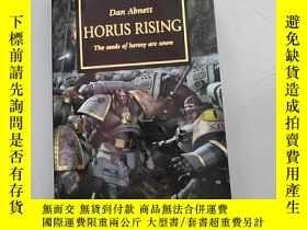 二手書博民逛書店horus罕見rising :the seeds of heresy are sown【32開英文原版如圖實物圖】