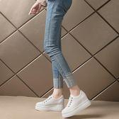 夏季小白鞋女2018新款百搭韓版厚底松糕底內增高鞋  ys2232『時尚玩家』