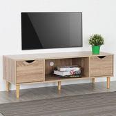 Homelike 卡雅二抽電視櫃(三色)原木