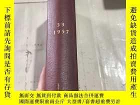 二手書博民逛書店罕見NTERNATIONA) AFFAIRS 1957Y2463