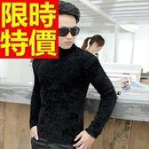 長袖毛衣-美麗諾羊毛英倫風禦寒套頭男針織衫3色63t88【巴黎精品】