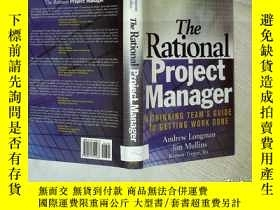 二手書博民逛書店The罕見Rational Project Manager: A