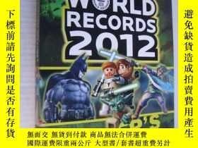 二手書博民逛書店Guinness罕見World Records 2012 (Ga