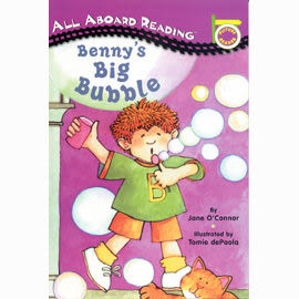 All Aboard Reading系列:BENNYS BIG BUBBLE