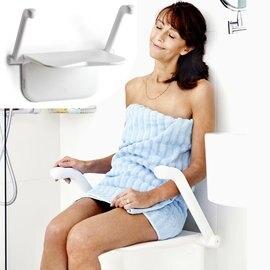 來而康 強生 Etac Relax 益他沐浴座椅 可折疊 白色