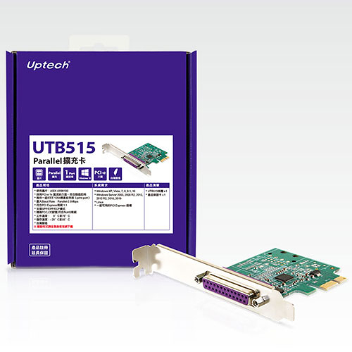 登昌恆 Uptech UTB515 Parallel PCI-e 擴充卡