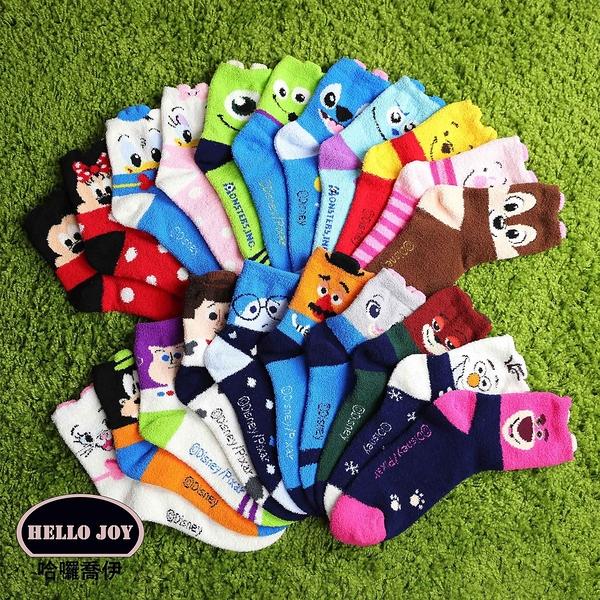 【正韓直送】迪士尼羽絨紗保暖中筒襪 韓國襪子 長襪 韓襪 女襪 高飛 韓妞必備 哈囉喬伊 D24