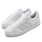 adidas 休閒鞋 Grand Court 白 灰 愛迪達 Neo 女鞋 小白鞋 【ACS】 GV7146