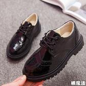 英倫風男童黑色皮鞋 表演 鋼琴演出 畢業典禮 搭配西裝 花童 橘魔法 Baby magic 現貨 童鞋 兒童 皮鞋