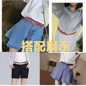 皮帶女真皮簡約百搭韓國簡約個性腰帶細裝飾學生韓版潮bf風褲帶