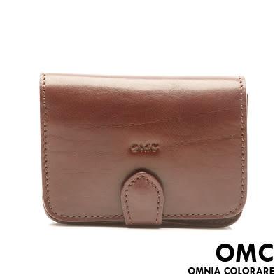 OMC - 原皮魅力真皮紳士型男功能腰包