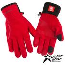 PolarStar 女防風保暖手套『紅』P16616 防風手套│保暖手套│防滑手套│機車手套