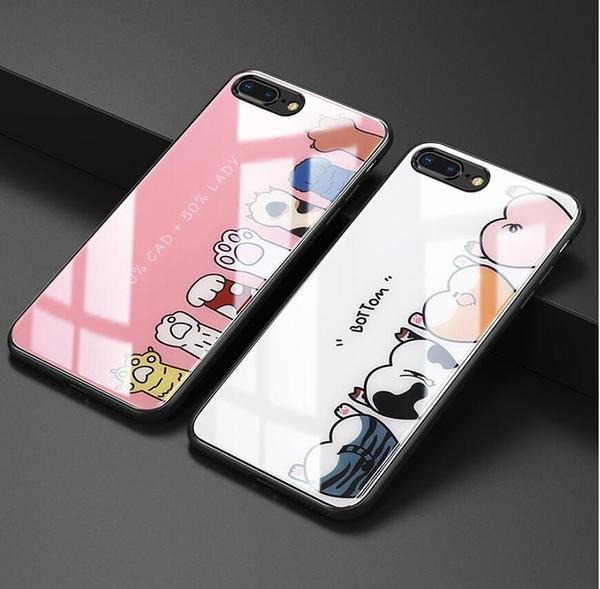 iPhone Xs Max 男女軟殼手機套 個性創意 iPhone Xs 蘋果 愛心閃粉矽膠手機殼 可愛卡通超薄手機殼