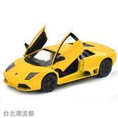 兒童玩具車合金汽車模型 車模 汽車模型玩具蘭博基尼蝙蝠開門回力