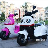 一件免運-兒童騎乘兒童電動三輪車摩托車充電童車嬰幼兒寶寶小孩三輪車可坐人玩具車3色xw