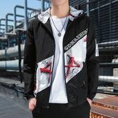 夏季薄款防曬服 男士韓版休閒外套潮流寬鬆工裝夾克 潮牌帥氣上衣 JX3094『男神港灣』