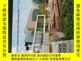 二手書博民逛書店Landscape罕見architecture Magazine 2014 11 建築景觀設計外文雜誌Y146