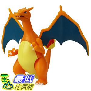 [8美國直購] PoKéMoN 4.5吋 Battle Feature Figure - Charizard, Orange B07PRCNWZ6