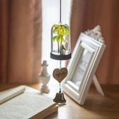 日式玻璃龍貓小風鈴夜光燈掛飾創意女生臥室門飾兒童新年生日禮物