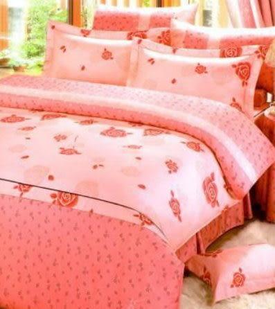 單品 (不含被套)-玫瑰-粉紅、100%精梳棉【單人床包3.5X6.2尺/枕套】