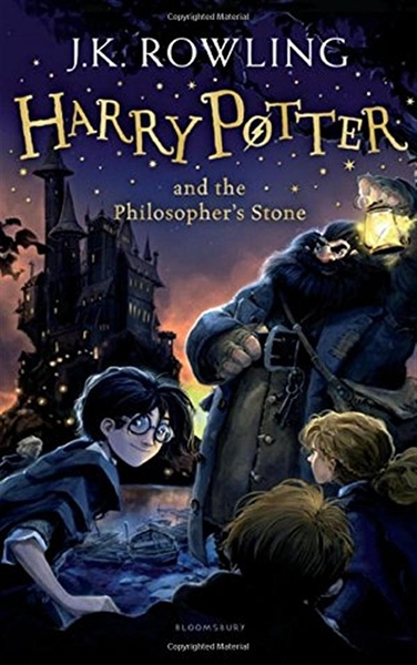 Harry Potter and the Philosopher's Stone (1) Rejacket 2014