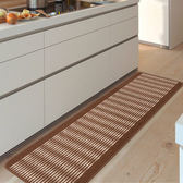 時尚創意地墊36 廚房浴室衛生間臥室床邊門廳 吸水長條防滑地毯(43cm*240cm)
