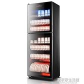消毒櫃家用立式廚房消毒碗櫃商用雙門大容量經濟碗筷毛巾櫃