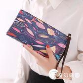 零錢包-手拿包手包新款韓版卡通可愛超薄長款女士錢包拉鏈零錢包手機包潮-奇幻樂園