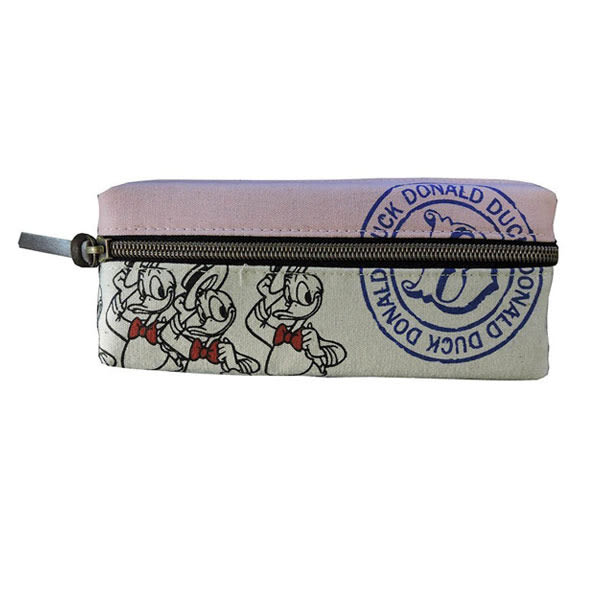 【日本進口正版】米奇 米妮 唐老鴨 奇奇蒂蒂 粉紅款 迪士尼系列 雙層 筆袋 鉛筆盒 Disney - 042559