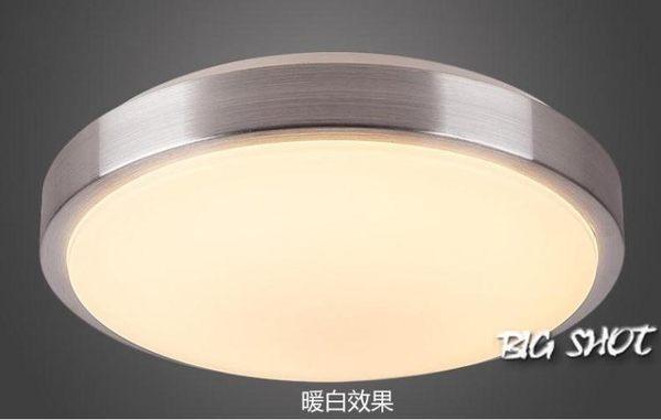 吸頂燈-圓形LED吸頂燈現代簡約臥室燈客廳書房餐廳陽台燈飾110v用燈具【大咖玩家】T1