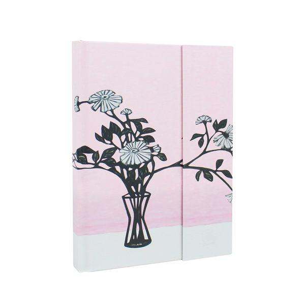 【史博文創】筆記本-常玉 瓶花-加贈展覽限定L夾(2款)+造型磁鐵