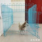室內狗屋家用用品狗窩籬笆柵欄圍墻寵物圍欄狗狗大型犬柵欄LXY2098【黑色妹妹】