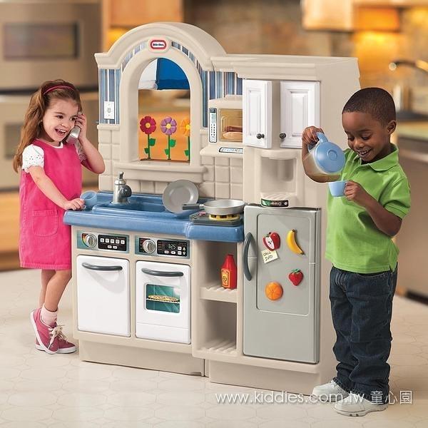 幼之圓*-美國Little Tikes BBQ廚房 家家酒系列.增加親子互動玩具