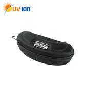 UV100 防曬 抗UV 牛津布運動眼鏡盒-加大款