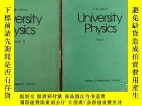 二手書博民逛書店University罕見Physics PART I + PAR