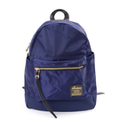 【i Brand 後背包】韓系輕時尚口袋尼龍後背包-藍色 TBG-746-BL