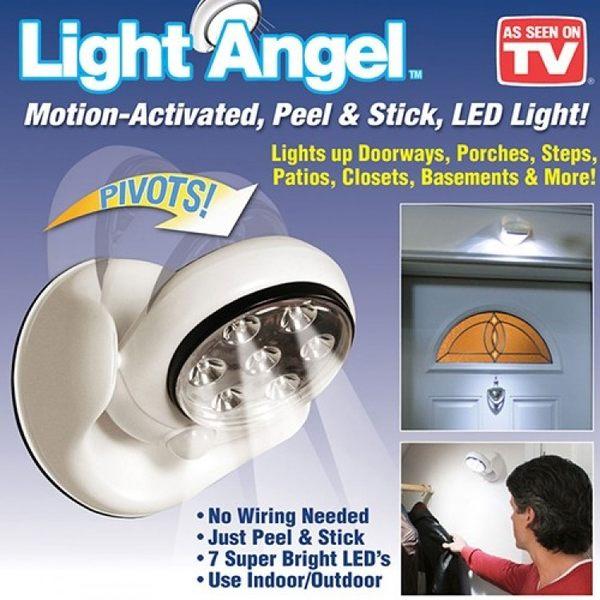 360度LED感應燈 Light Angel 走廊燈 樓梯燈 車庫燈 吸頂燈 牆壁燈 玄關燈 防盜燈
