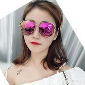 太陽鏡 偏光太陽眼鏡防紫外線個性圓臉時尚墨鏡女士新款夏 TL4【棉花糖伊人】