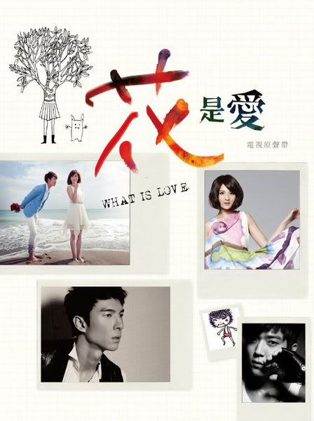 花是愛 電視原聲帶 CD OST (音樂影片購)