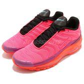 Nike 慢跑鞋 Air Max 97 Plus 粉紅 橘 氣墊 反光設計 復古 運動鞋 男鞋【PUMP306】 AH8144-600