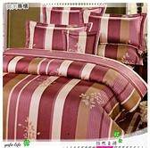 雙人【兩用被套+薄床包】(5*6.2尺)/高級四件式100%純棉雙人『怡然自得』紅☆*╮