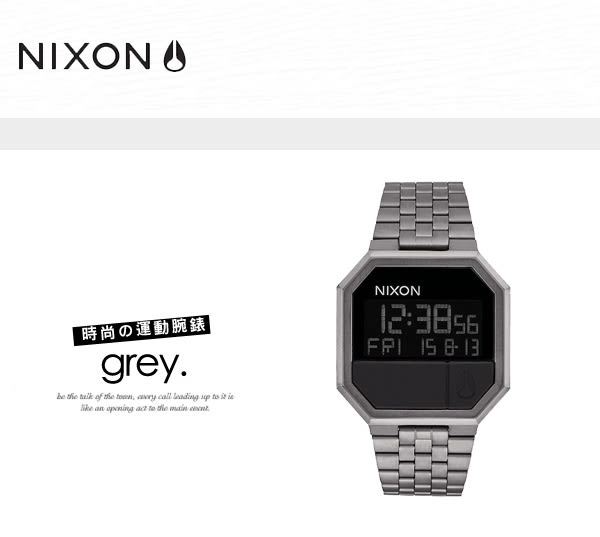NIXON A158-632 THE RE-RUN 時尚電子錶 熱賣中!