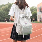 小清新雙肩包女2019新款正韓簡約森系街拍閨蜜包防盜後袋學生背包