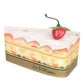 【日本製】【Le patissier】日本製 今治毛巾 切片蛋糕造型 香草白(一組:3個) SD-4017-3 - 日本製
