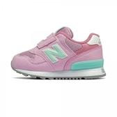 New Balance 嬰幼童粉綠色休閒運動童鞋-NO.IO313PP