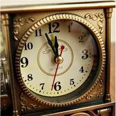 多功能時尚可愛卡通男女孩學生老人兒童創意床頭鬧鐘鬧馬蹄錶 瑪麗蓮安