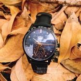 Henry London英國前衛品牌MOON PHASE復刻時光月相時尚腕錶HL35-LS-0324公司貨
