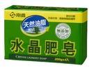 南僑水晶肥皂 200gx4入*(20組)箱購 : 天然油脂 香茅油 高級洗衣