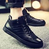 運動鞋帆布鞋休閒鞋男鞋高幫潮鞋新品板鞋正韓潮流百搭帆布休閒夏季網紅鞋子