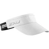 2XU 中空帽(鬆緊帶) 白色【好動客】